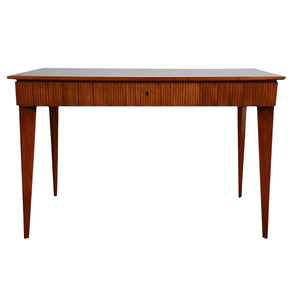 Image of Pair of Sabre Leg Console Tables