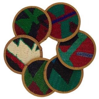 Yaz Kilim Costers - Set of 6