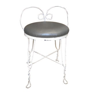 Vintage Ice Cream Stool