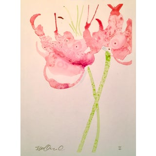 """Lily Puddles"" Original Watercolor Painting"
