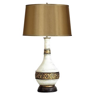 Antiqued Gilded Urn Table Lamp