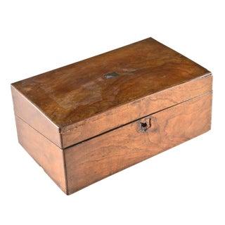 Charming English Rosewood Writing Box