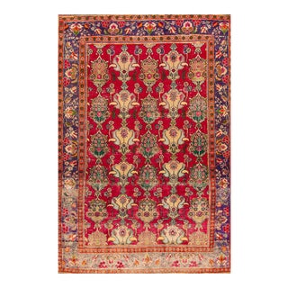 """Apadana - Vintage Persian Tabriz Rug, 8'7"""" x 12'5"""""""