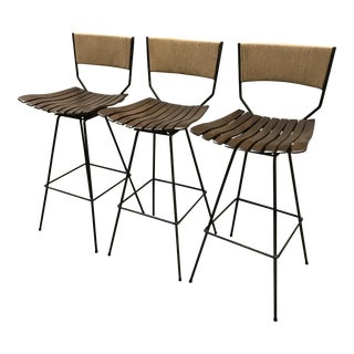 Arthur Umanoff Bar Stools - Set of 3