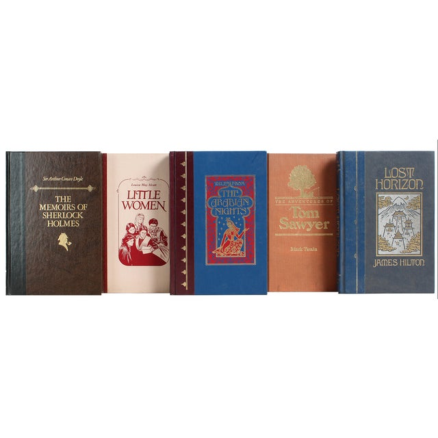 Vintage Classic Books Gift Set - Image 1 of 3