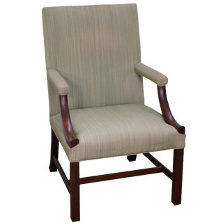 Kittinger Colonial Williamsburg Chippendale Library Chair