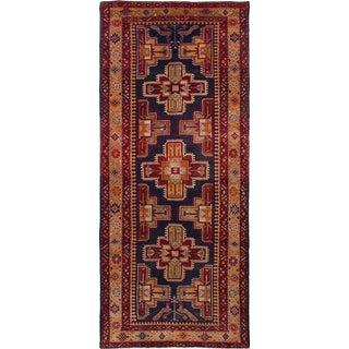"Vintage Persian Ardabil Rug- 4'5"" x 10'7"""