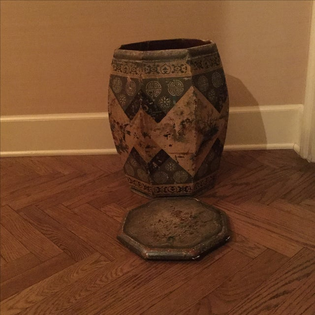 Antique chinese garden stool side table chairish for Garden stool side table