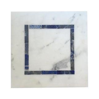 White & Blue Stone & Marble Box