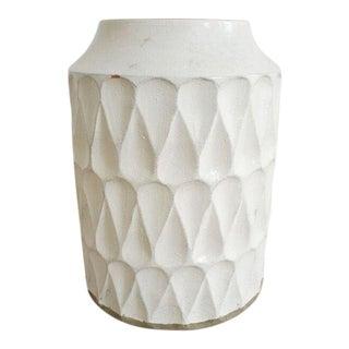 Crate & Barrel Oversized Ceramic Vase