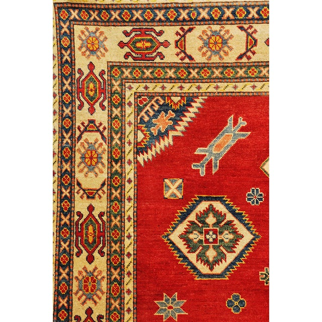 Pakistani Kazak Rug - 7′5″ × 9′ - Image 5 of 6