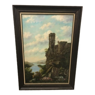 """""""Castle In Ruins"""" Oil Painting"""