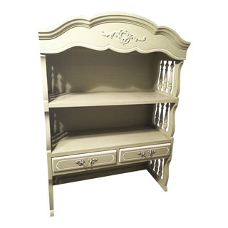 1960s Vintage Henry Link French Provincial Book Shelf