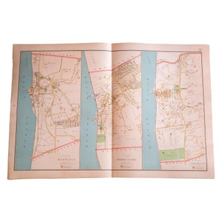 Antique Hastings, Dobbs Ferry, & Irvington Map