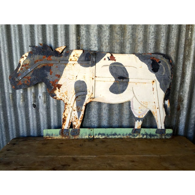 Image of Vintage Cow Weathervane