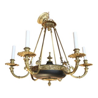 Empire Style 6-Light Chandelier