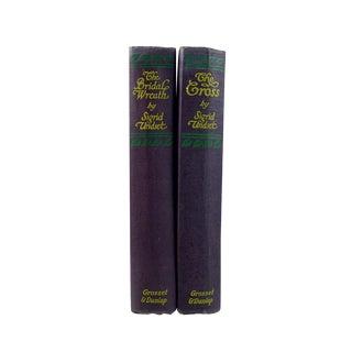 Sigrid Undset Books - A Pair