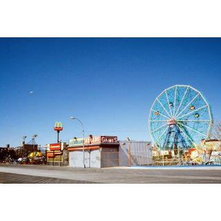 1985 Fernando Natalici Brooklyn Coney Island Photograph