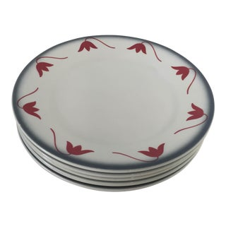 """Italian Ceramic """"Galvani"""" Plates - Set of 6"""