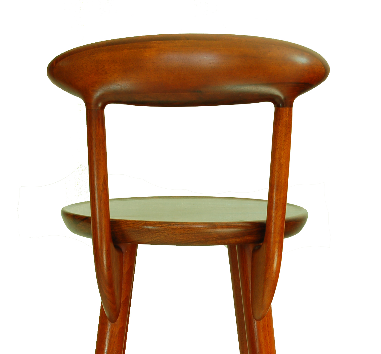 Kurt 216 Stervig Teak Danish Bar Stools Set Of 4 Chairish