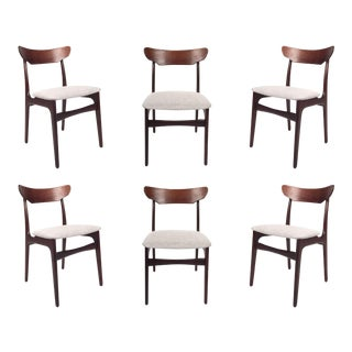 Vintage Hans Wegner Danish Rosewood Dining Chair -Set of 6