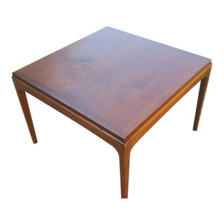Lane Furniture Mid-Century Modern Walnut End Table