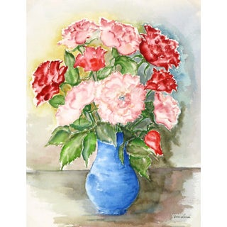 Vintage Watercolor - Blooms of Ardor