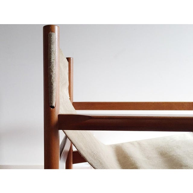 Michael Arnoult Suede Easy Chair - Image 3 of 3