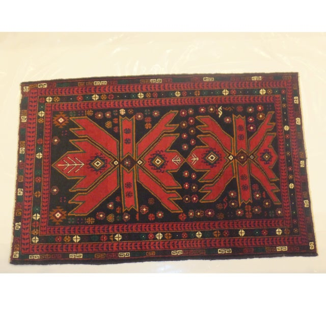 Patterned Baluch Rug - 3' x 5' - Image 2 of 5