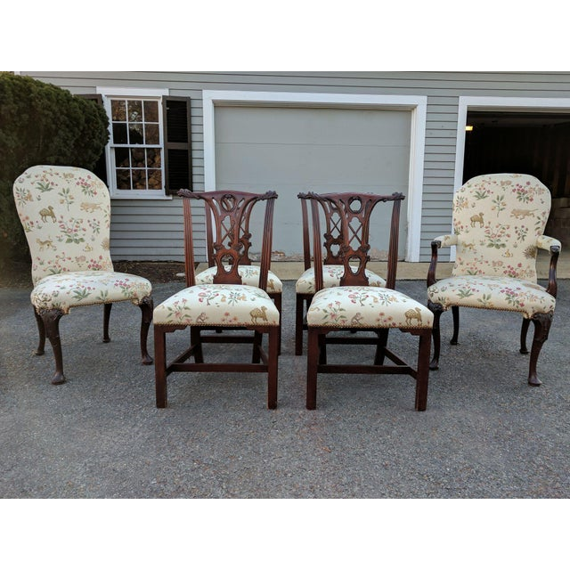 Transitional Dining Room Furniture: Transitional Kindel Dining Room Chairs - Set Of 6
