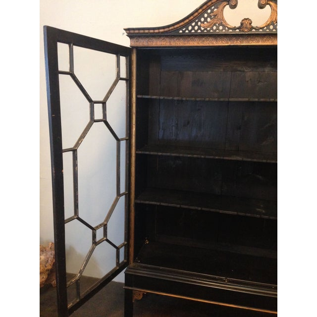 Antique Chinese Chippendale Cabinet - Image 7 of 8