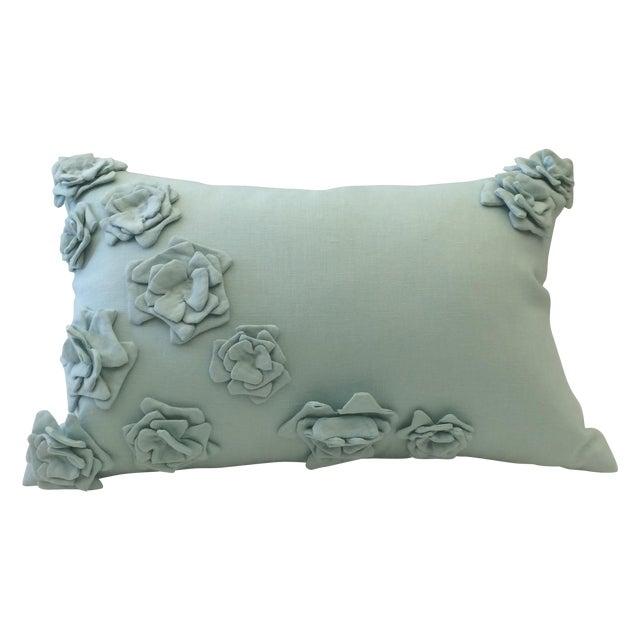 Tourmaline Linen Pillow Cover - Image 1 of 5