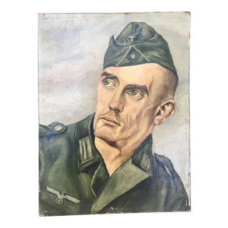 Soldier Portrait Painting