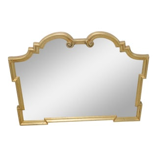 Ethan Allen Empire Style Gilt Carved Mirror