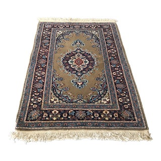 Vintage Turkish Kayseri Rug - 2'10 X 4'6