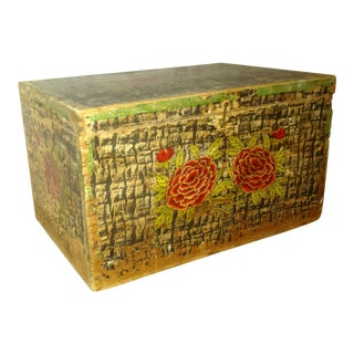 Lg. Victorian Christmas Fruit and Nut Delivery Box