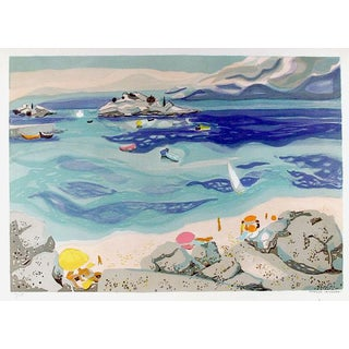 "Georges Lambert ""Untitled - Seascape Ii"" Print"