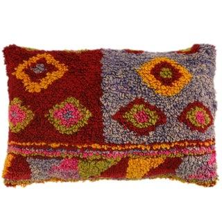 Turkish Tulu Carpet Lumbar Pillow