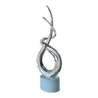 Modern Abstract Murano Glass Sculpture
