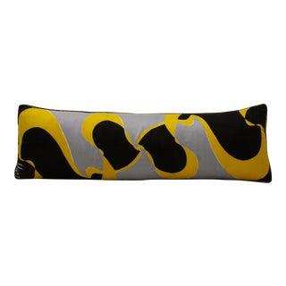 Vera Silk Scarf Bolster Pillow