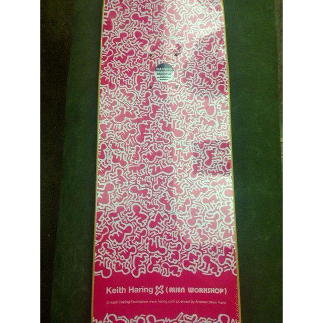 Rare Keith Haring Skate Deck - Image 3 of 3