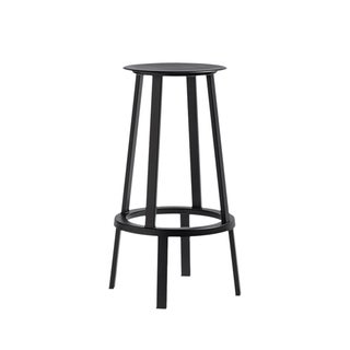 Hay Black Revolver Bar Stool -A Pair - Retail $700