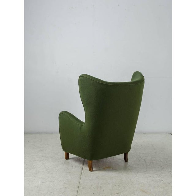 Mogens Lassen Style Lounge Chair, Denmark, 1940s - Image 3 of 10