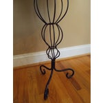 Image of Black Wire Tripod Side Table
