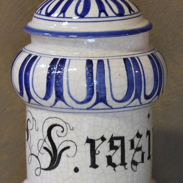 Vintage Italian Apothecary Jars - A Pair - Image 8 of 8