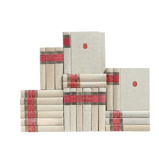 Flax & Scarlet Classic Books - Set of 24