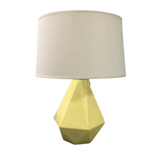 Robert Abbey Inc. Yellow Faceted Table Lamp