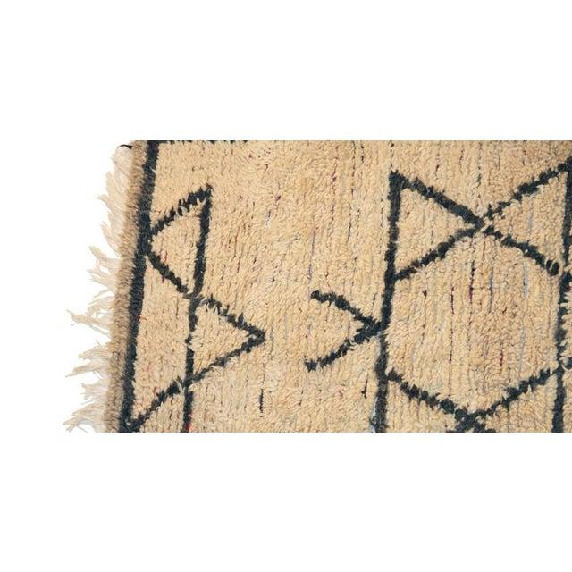 "Moroccan Vintage Beni Ouarain Rug - 3'8""x12'5"" - Image 2 of 4"