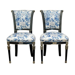 Ralph Lauren Chinoiserie Directoire Style Chairs