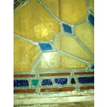 Image of Stained Glass Victorian Window Transom